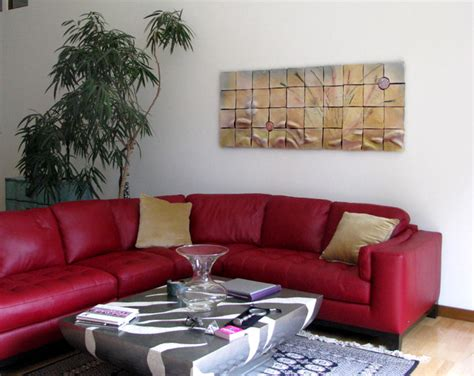 gorgeous red sectional sofa plan  fashionable style
