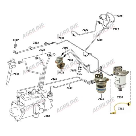 massey ferguson 245 parts diagram 7 3 valve cover gasket harness 7 get free image about