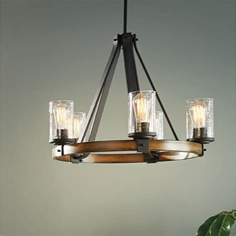 kichler lighting chandelier shop kichler lighting barrington 3 light distressed black