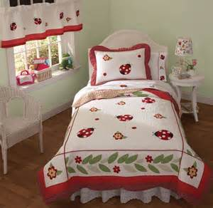 ladybug bedding in quilt sets for girls on discount