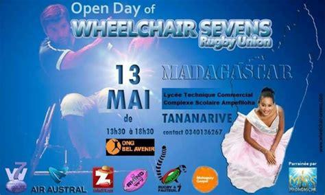 rugby 7 fauteuil le rugby 224 7 en fauteuil en d 233 monstration 224 madagascar