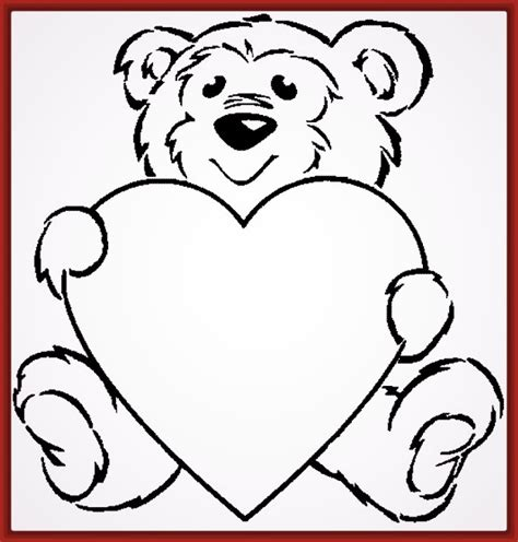 imagenes de corazones infantiles para imprimir dibujo de corazones para colorear e imprimir fotos de