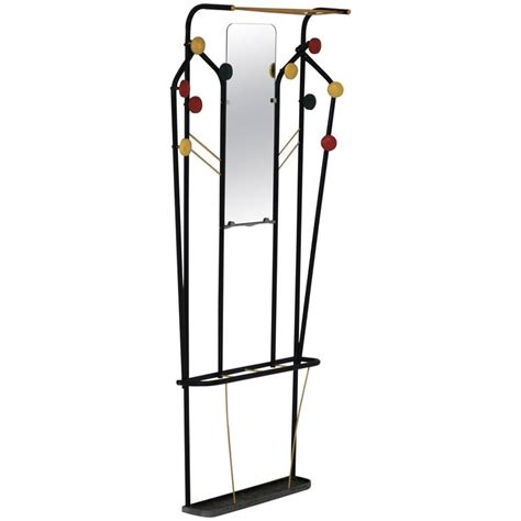 Wall Mounted Coat Rack With Mirror by Wall Mounted Coat Rack With Mirror And Umbrella