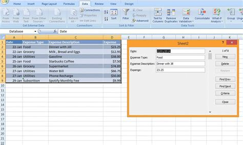 Spreadsheet Data by 7 Tricks To Make You A Spreadsheet Expert