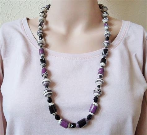 Kalung Fashion Choker Bead Pendant Choker Baru Cantik Trend Rcf5bf 503 best images about paper and jewellery on paper bead necklaces and paper