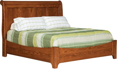 daniel s amish bedroom furniture victorian king sleigh bed with low footboard by daniel s