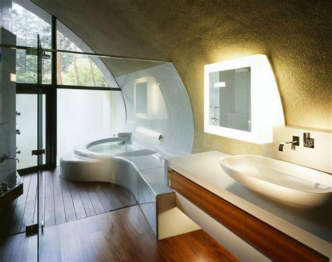 Modern Bathroom In Japan Shell House Karuizawa Artechnic Architects Ideasgn