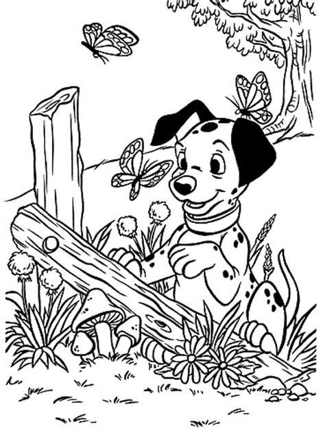 101 Dalmatians Coloring Pages Coloringpages1001 Com 101 Dalmatians Coloring Pages