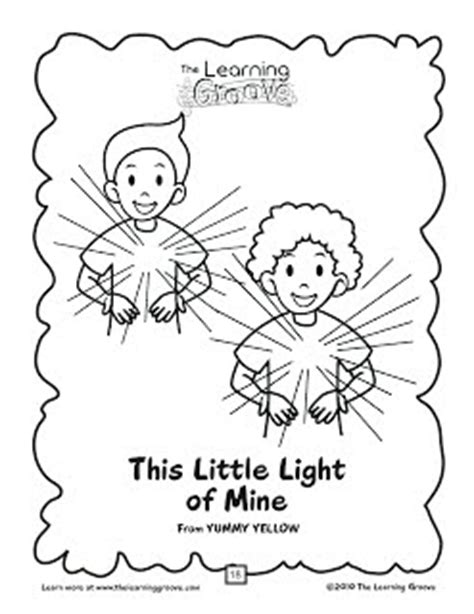 this little light of mine tlg children s songs and