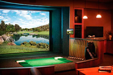 full swing golf full swing golf simulator uncrate