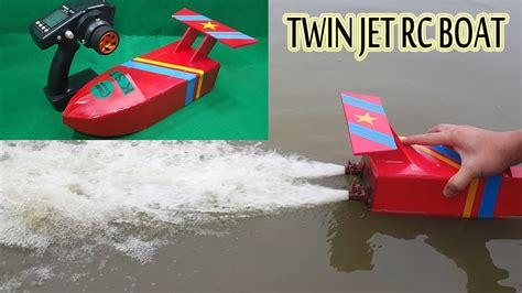 how to make a boat using motor how to make a twin jet rc boat using turbo jet motor
