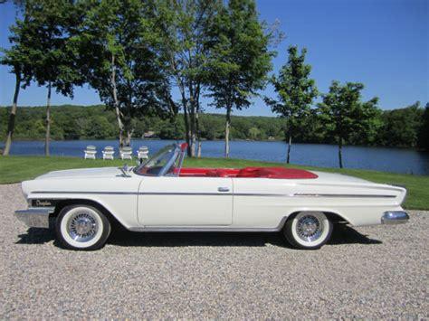 Chrysler Newport Convertible by 1962 Chrysler Newport Convertible Classic Chrysler