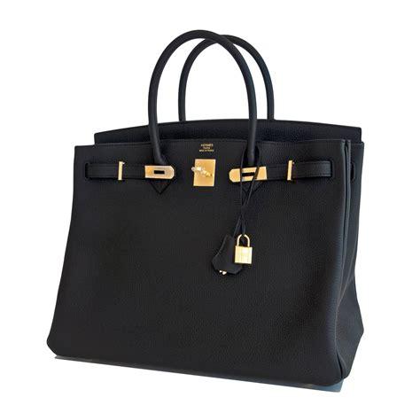 Black Birkin hermes birkin bag 40cm black togo gold hardware world s best