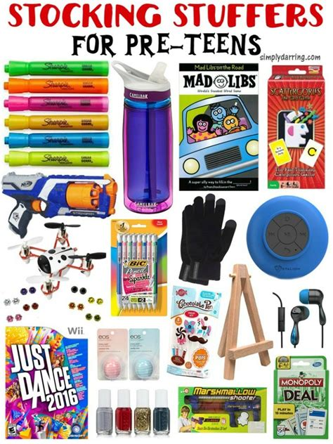 stocking stuffers for pre teens christmas gifts teen