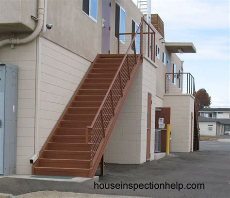 exterior stairs exterior metal stairway