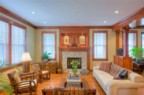 craftsman style living room landis construction corporation a design build firm