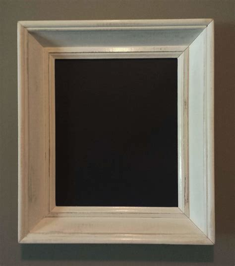 diy chalkboard with picture frame learn to make shabby chic chalkboard frames