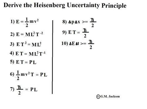 gm jackson physics and mathematics a simple way to derive