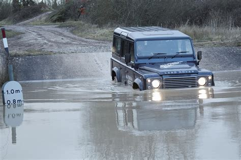 electric land electric land rover defender concept photos and details