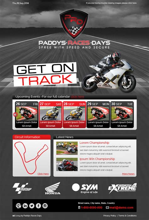 designcrowd newsletter design professional bold newsletter design for paddys races days
