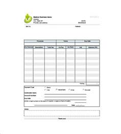 doctor bill template invoice templates 10 free word excel pdf