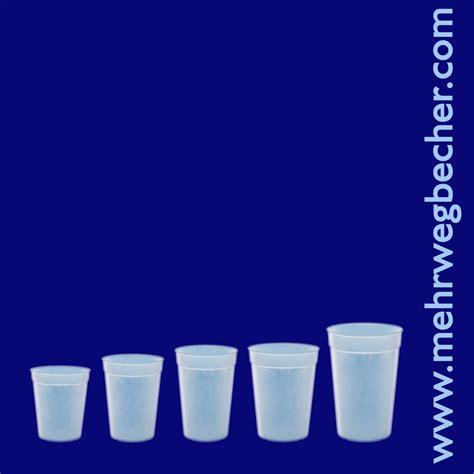 Plastik Pp 0 6 mehrwegbecher 0 5l pp transparent gefrostet aus plastik mehrwegbecher schorm direkt vom erzeuger