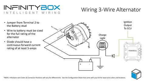 one wire alternator wiring diagram chevy stunning gm 4 wire alternator wiring diagram gallery new 1
