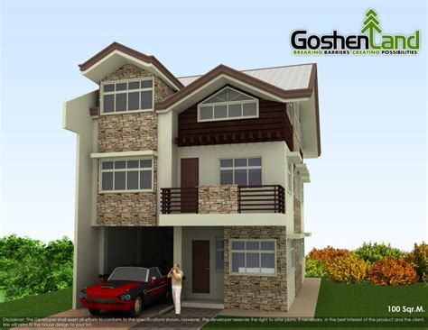 house design ideas for 100 square meter lot house designs pictures condominiums and house and lot