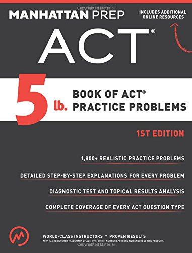 act book 2017 best act prep books for 2017 2018 best act self study