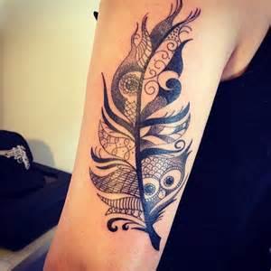 Barn Owl Meaning Black Tattoo Black Work Tatuagem Tattoo Pena