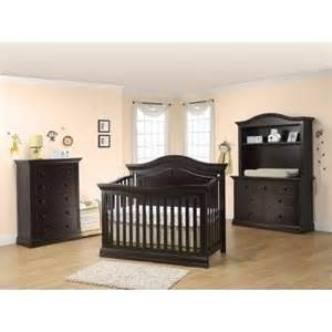 Baby Crib Sets With Dresser Sorelle Providence 3 Nursery Set In Espresso