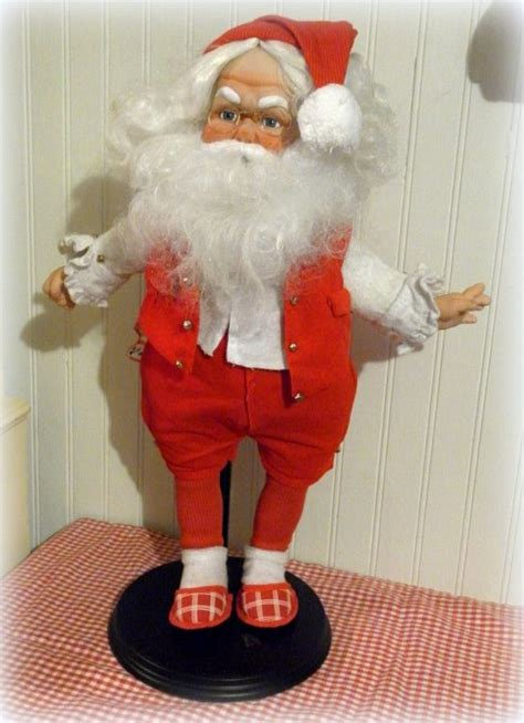 Handmade Santa Claus - handmade vintage santa claus doll