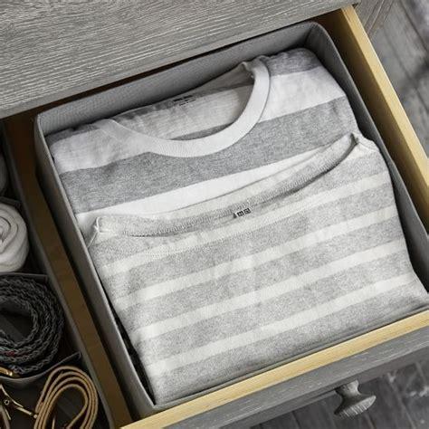 drawer organizer t shirt storage pbteen