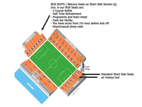 craven cottage seating plan fulham fc vs hull city at craven cottage on 2014 04 26
