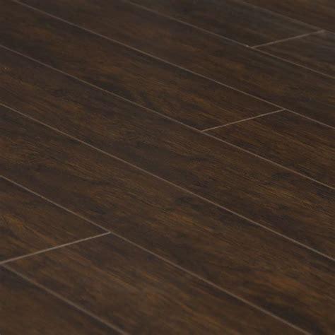 5 hand scraped hickory mocha laminate hardwood floor