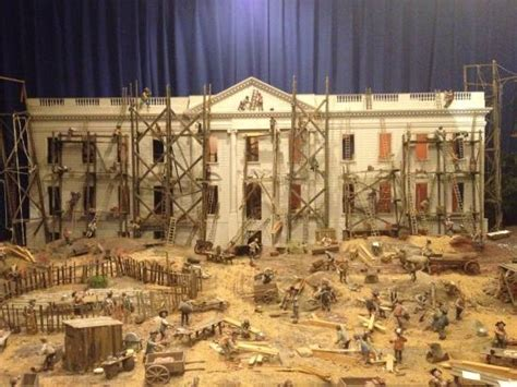 Building The White House by Building Of The White House Picture Of Presidents