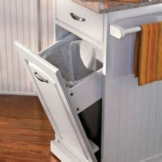 kitchen trash cans for small spaces 1000 images about kitchen ideas on white