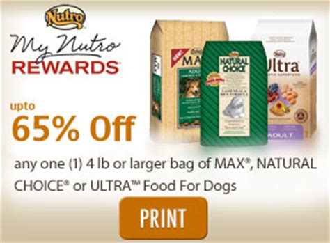 printable nutro max dog food coupons image gallery nutro coupons