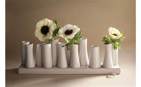 Shaped Rugs Ceramic 12 Bud Vase Jayson Home