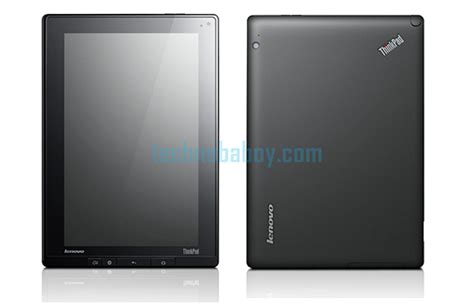 Tablet Android Lenovo lenovo thinkpad tablet running android specifications features price release date