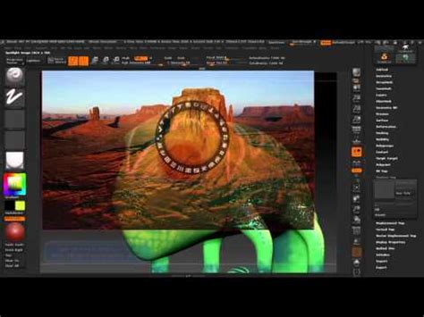 zbrush tutorial import zbrush c 225 ch import v 224 chỉnh sửa texture youtube