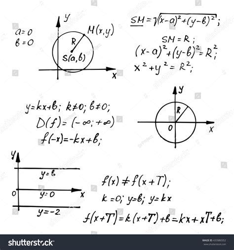 whiteboard math stock photos whiteboard mathematics equations on whiteboard education vector background 433980352