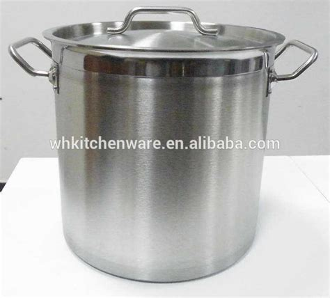 Panci Cookware nsf induction ready hotel restaurant 18 10 stainless steel cookware buy stainless steel