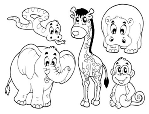 free printable zoo animal cutouts zoo animal crafts cut outs zoo animals cutouts vbs kid