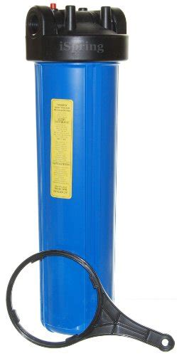 Housing Filter 20 Nanotec Inlet Outlet 34 ispring hb28b 20 inch big blue water filter housing 1 inch