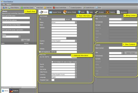client database excel template 3 excel client database templates excel xlts