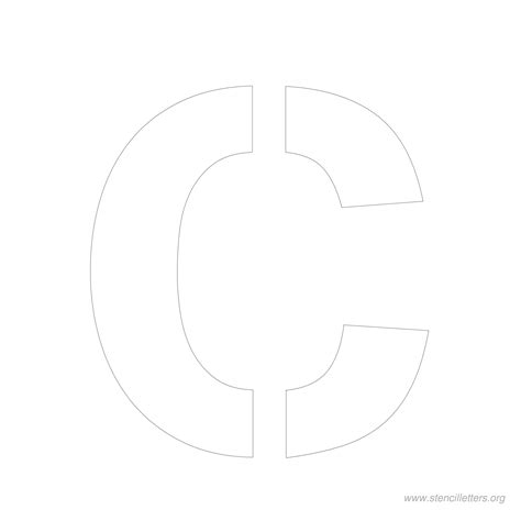 6 Inch Letter Template