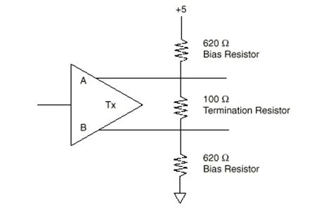 termination and bias resistor information national instruments
