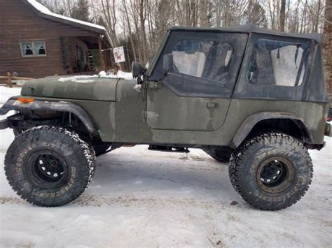 Lifted 94 Jeep Wrangler 94 Yj Wrangler Classic Jeep Wrangler 1994 For Sale