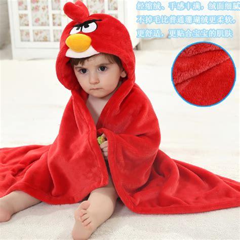 Selimut Bulu Selimut Selimut Hoddie Perlengkapan Bayi selimut bayi selimut topi angry bird selimut fleece karakter selimut hoodie bulu